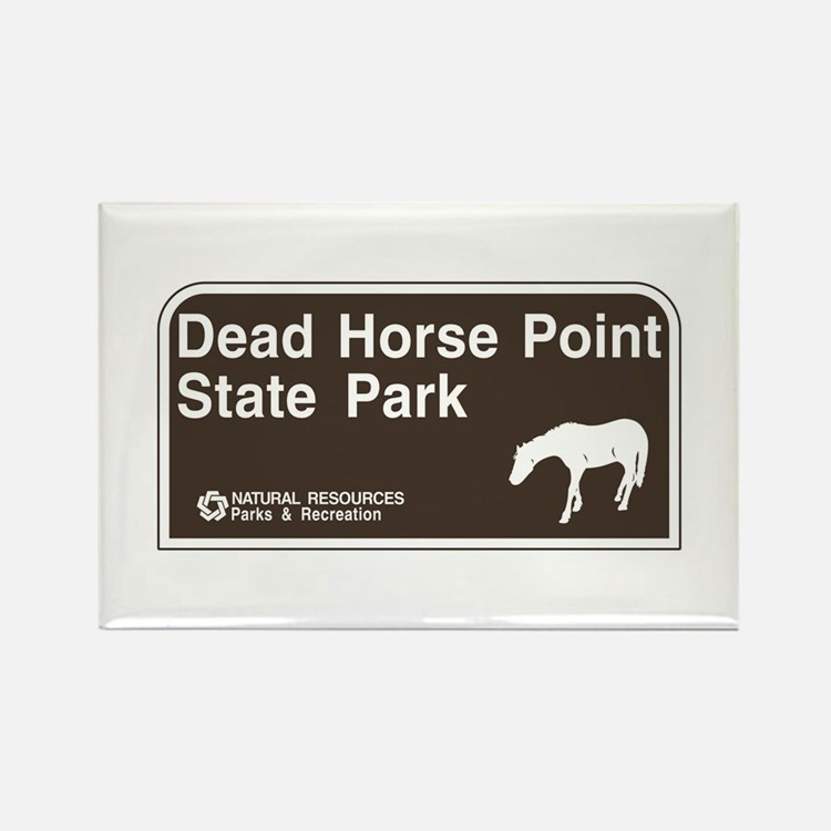 Dead Horse Point State Park, Utah Rectangle Magnet