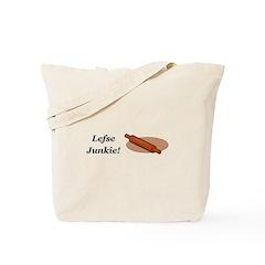 Lefse Junkie Tote Bag