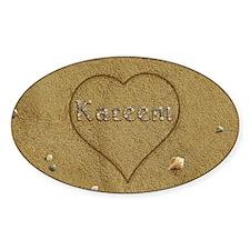 Kareem Beach Love Decal