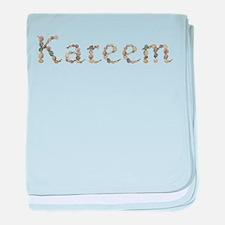 Kareem Seashells baby blanket