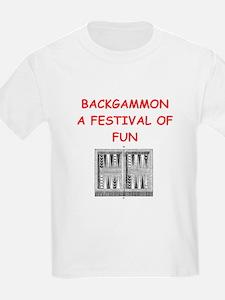 Unique Backgammon T-Shirt