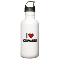 I Love Giovanni Water Bottle