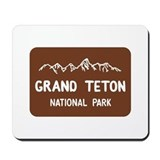 Grand teton national park Mouse Pads