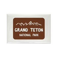 Grand Teton National Park, Wyomin Rectangle Magnet