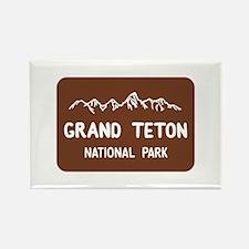 Grand Teton National Park, Wyomin Rectangle Magnet