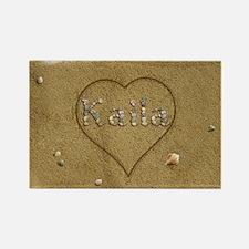 Kaila Beach Love Rectangle Magnet