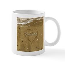 Kaiden Beach Love Small Small Mug