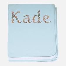 Kade Seashells baby blanket