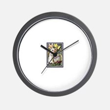Easter Greetings Bunny Wall Clock
