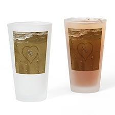 K Beach Love Drinking Glass