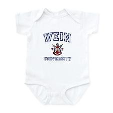 WEIN University Infant Bodysuit