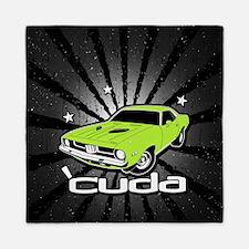 'Cuda - Sub Lime Queen Duvet