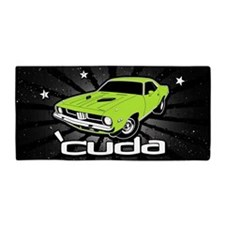 'Cuda - Sub Lime Beach Towel
