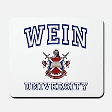 WEIN University Mousepad