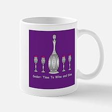 Seder Wine and Dine Passover Mug