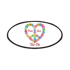 Tai Chi Peace Love Patch