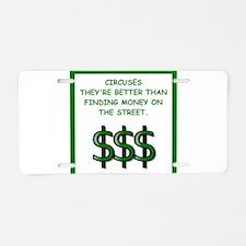 circuses Aluminum License Plate