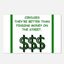 circuses Postcards (Package of 8)