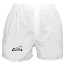 Beignet Breakfast Boxer Shorts