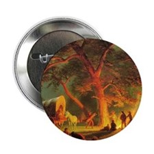 "Bierstadt, Oregon Trail 2.25"" Button (10 pack)"