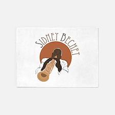 Sidney Bechet 5'x7'Area Rug