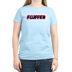 Fluffer Women's Pink T-Shirt