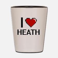 Unique Heath love Shot Glass