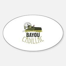 Bayou Cadillac Decal