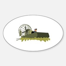 Bayou Airboat Decal