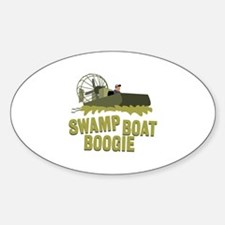 Swamp Boat Boogie Decal