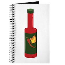 Hot Sauce Bottle Journal