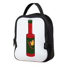 Hot Sauce Bottle Neoprene Lunch Bag