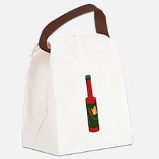 Hot Sauce Bottle Canvas Lunch Bag