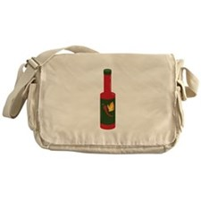 Hot Sauce Bottle Messenger Bag