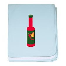 Hot Sauce Bottle baby blanket