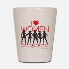 Eastbound and Down I Love Women Shot Glass