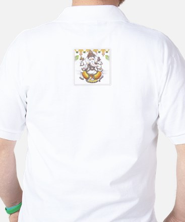 OM + Ganesh Golf Shirt