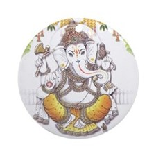 Ganesh Ornament (Round)