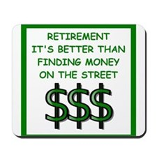 retirement Mousepad