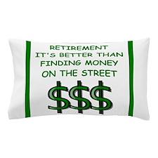 retirement Pillow Case