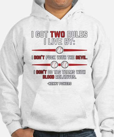 Eastbound and Down Two Rules Hoodie