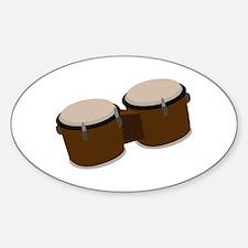 Bongo Drums Decal