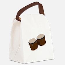 Bongo Drums Canvas Lunch Bag