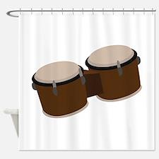 Bongo Drums Shower Curtain