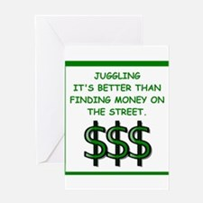 juggling Greeting Cards