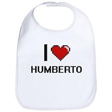 I Love Humberto Bib