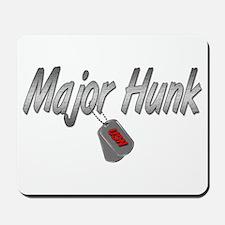 Navy Major Hunk ver2 Mousepad