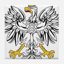 Polish Eagle Tile Coaster