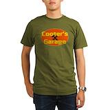 Dukes hazzard Organic Men's T-Shirt (dark)