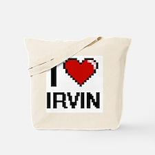 Cute Irvin name Tote Bag